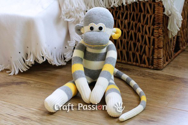 Мягкие игрушки своими руками обезьянки