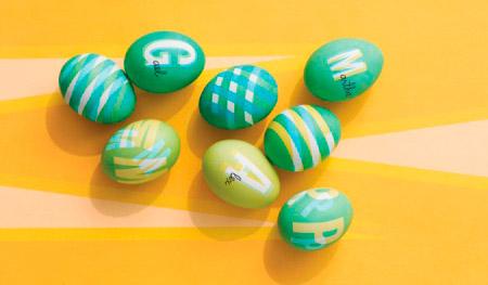 пасхальные яйца с полиграфическим дефектом