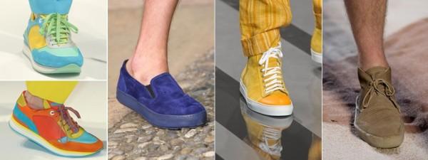 Модная мужская обувь 2013