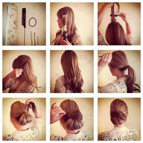 Аккуратные прически на длинные волосы