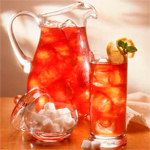 освежающий холодный чай