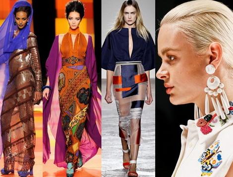 Летняя мода 2013: мода на восточные мотивы
