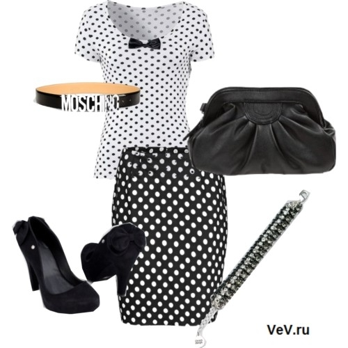 Летняя мода 2013: одежда в горошек