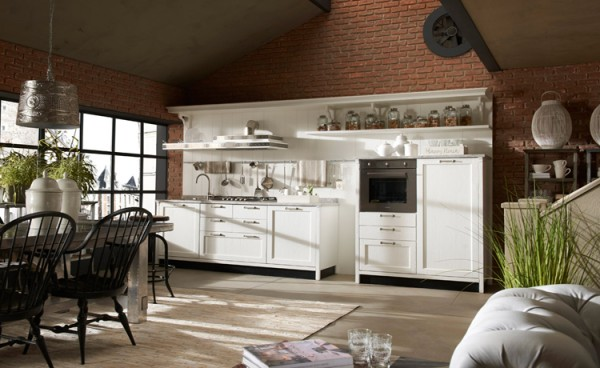 Кухни в стиле vintage