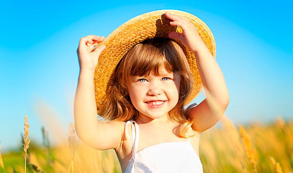 детская летняя фотосессия