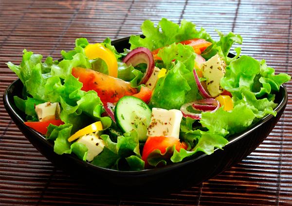 легкие овощные салаты на лето