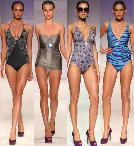 Пляжная мода 2013: купальники (часть 1)