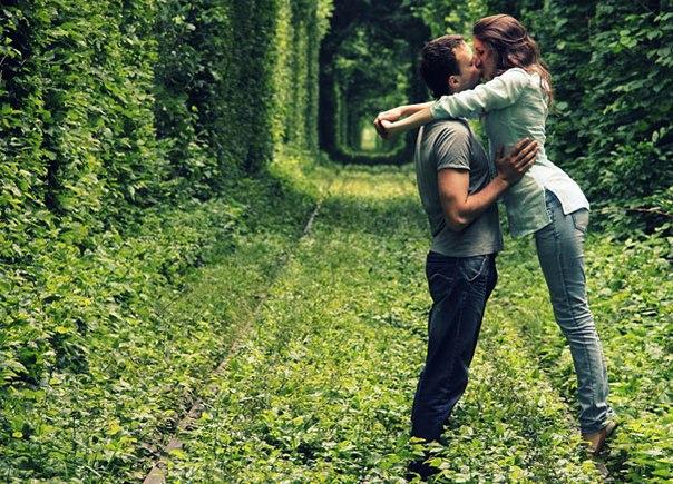 тоннель любви в ровенской области