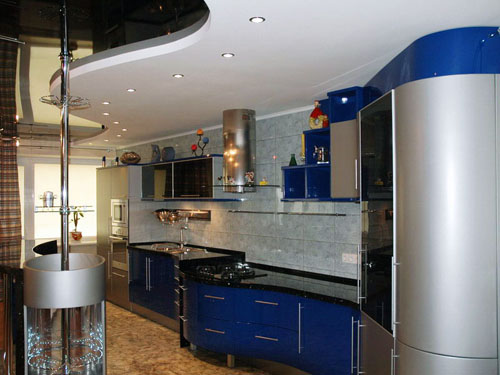 Кухня в стиле «Хай-тек»