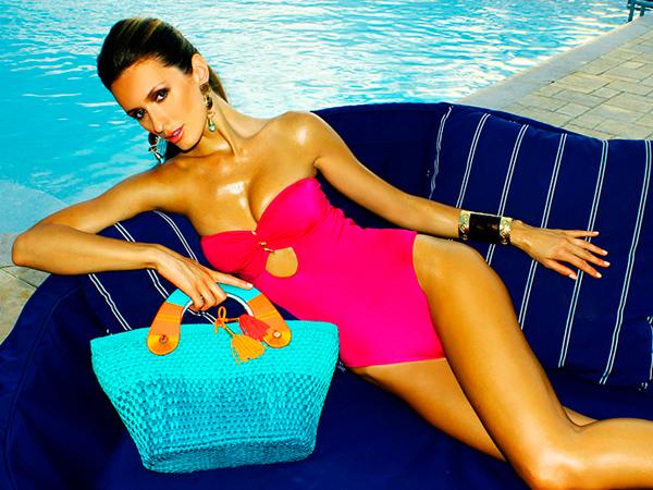 мода на пляжные сумки 2013
