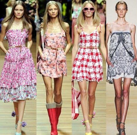 Модные летние платья и сарафаны 2013