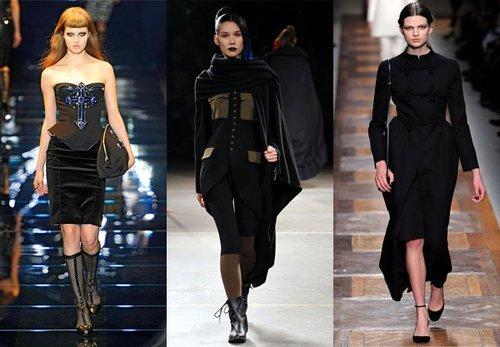 Летняя мода 2013: готические мотивы