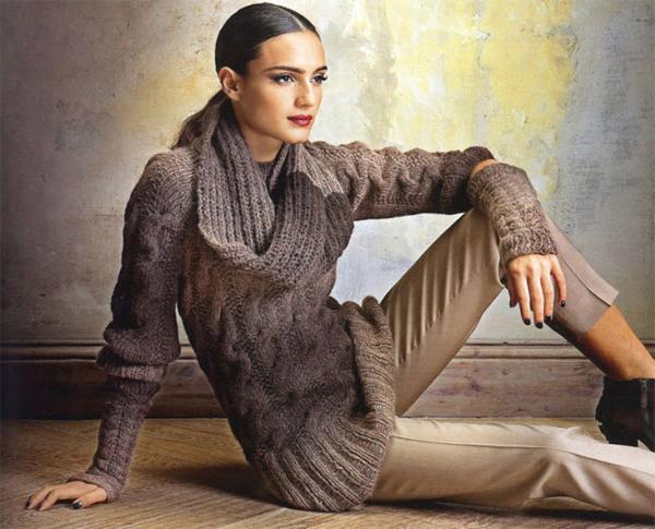 модный зимний гардероб