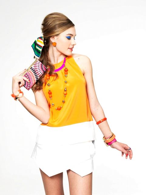 Модные летние украшения 2013