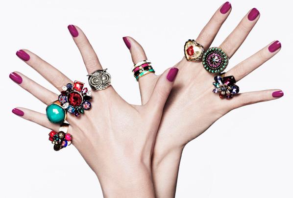 значение колец на каждом из пальцев