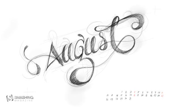 красивые обои август 2013