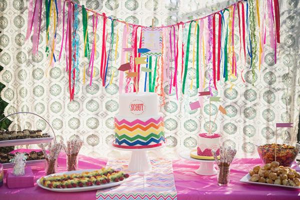 идеи для радужной вечеринки