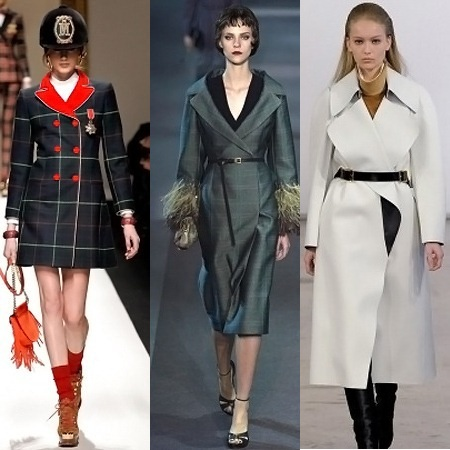 Модная верхняя одежда на осень 2013
