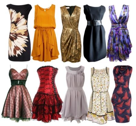 Стильные коктельные платья