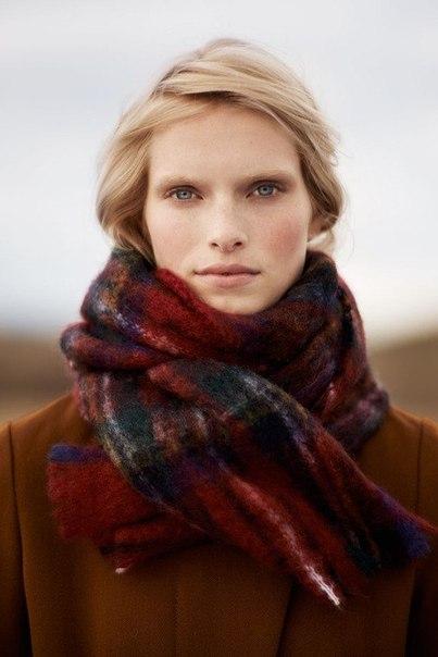 Модные шарфы осень-зима 2013