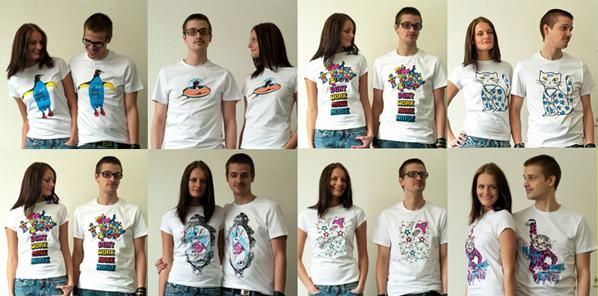 футболки с принтом
