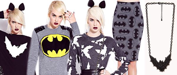 коллекция в стиле Batman от Forever 21