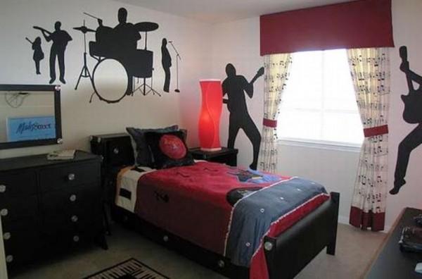 Интерьер комнаты для парня
