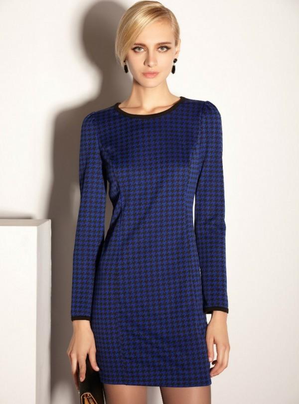Модные осенние платья 2013