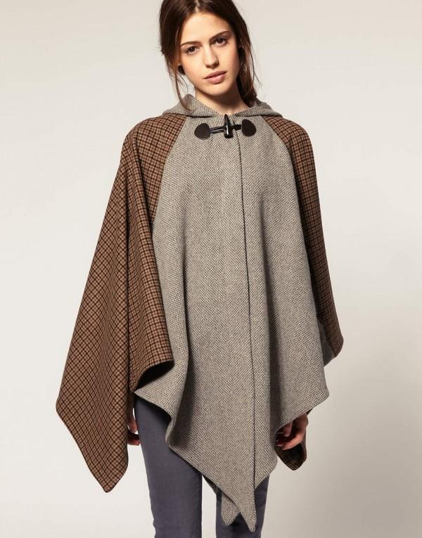 Тренд сезона: пальто-накидка