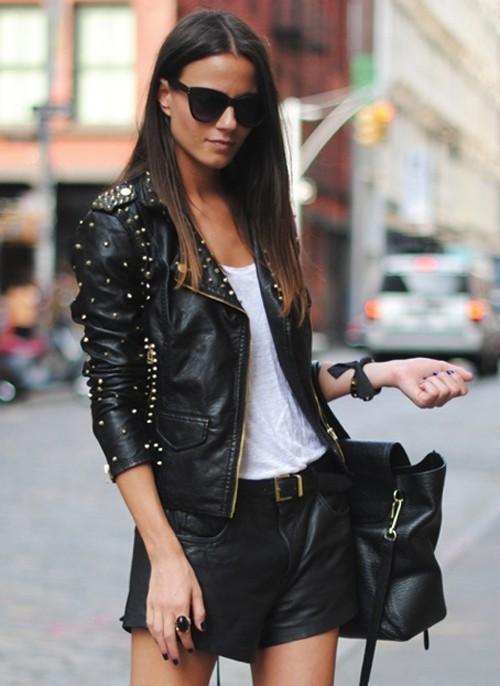 Куртки кожаные шанель