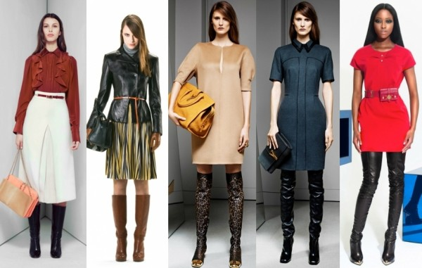 Модные сапоги 2013