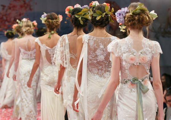 Модные свадебные прически 2013-2014