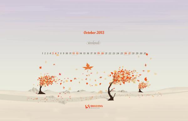 красивые обои октябрь 2013