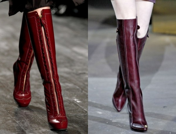 Модная обувь для осени 2013. Часть 2