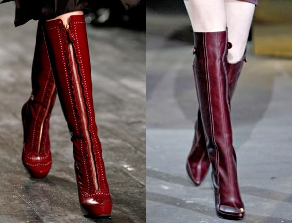Модная обувь зима 2014