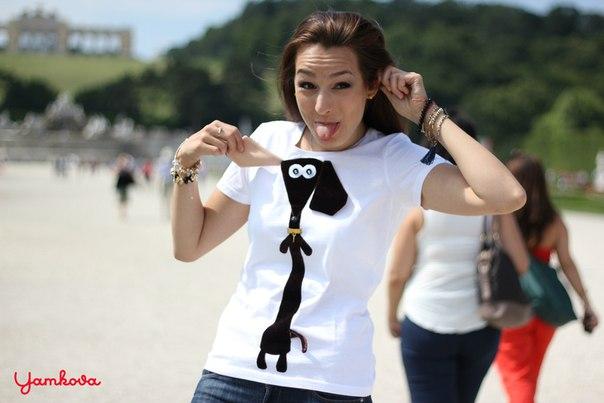 футболки от Нины Ямковой