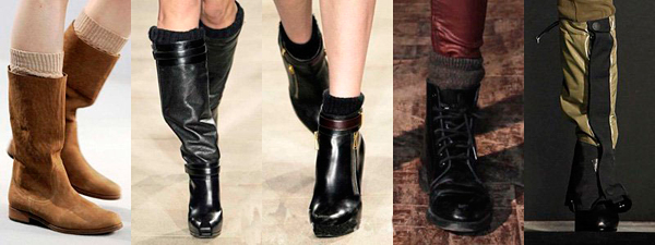 модные сапоги зима 2014