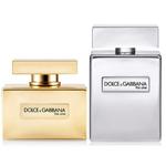 ароматы The One Gold и The One Platinum (Dolce&Gabbana)