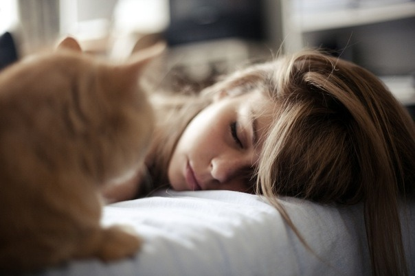 Забота о волосах во время сна