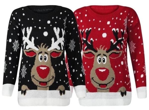 мода на новогодние свитера