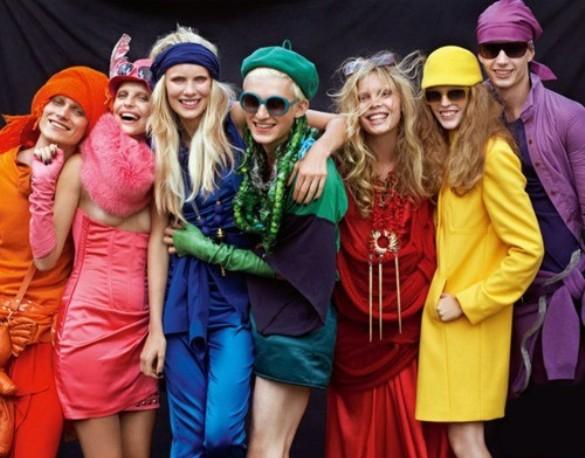 трендове цвета одежды 2014