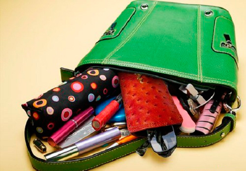 навести порядок в сумочке