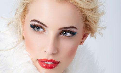 советы для зимнего макияжа