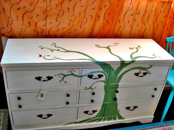 обновить старую мебель