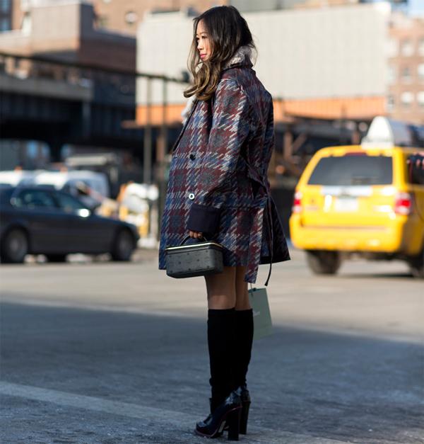 уличная мода Эйми Джени Сонг