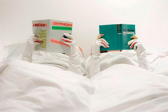 одеяло с рукавами на двоих