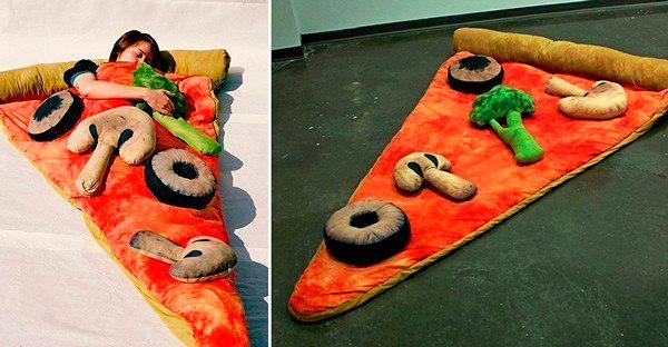 оригинальное одеяло пицца