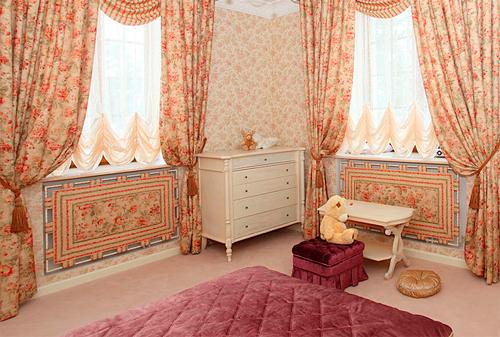 декор интерьера с помощью текстиля