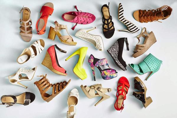 модная обувь весна лето 2014
