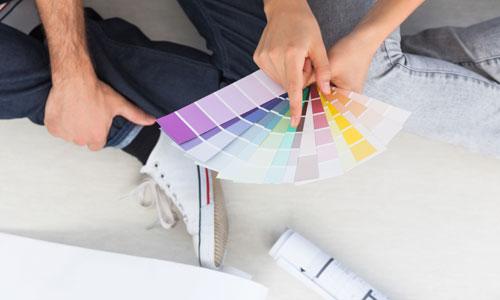 выбрать цвета для интерьера